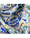 Pocket silk handkerchief - Gaudi Mosaic Bench