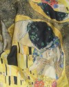 Silk scarf Klimt - The Kiss