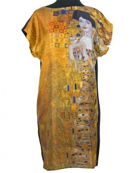 Silk dress Klimt Woman in Gold - Adele Bloch Bauer