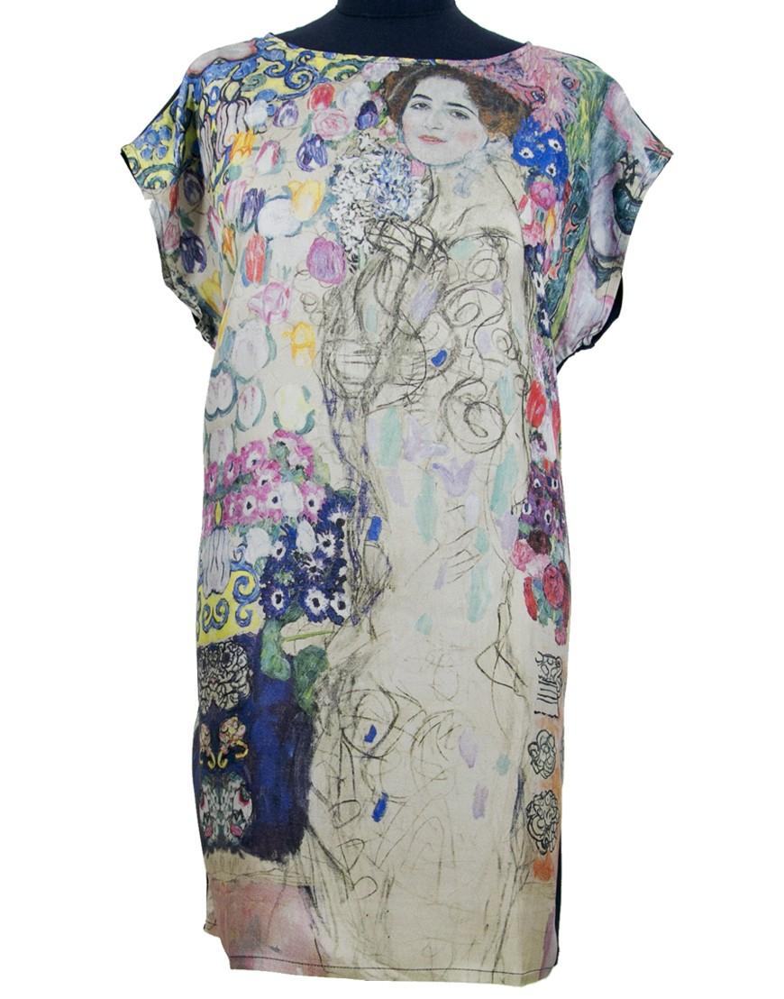 En Fibra Creativa Ria Soie Klimt Munk Robe PXukiZ