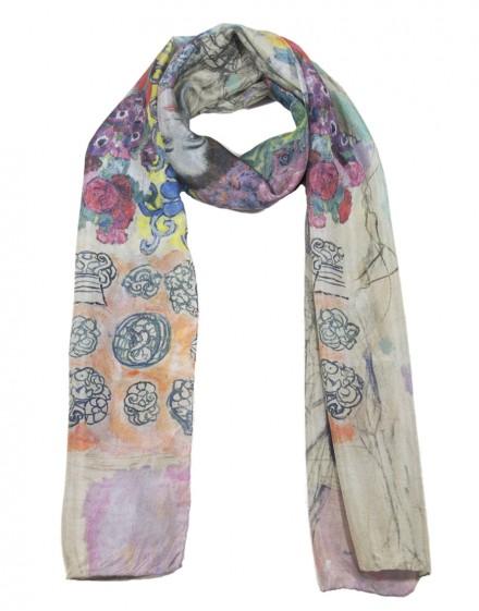 Fular de seda Klimt - Ria Munk