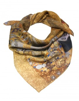 Klimt silk scarf - Adele Bloch Bauer Woman in Gold