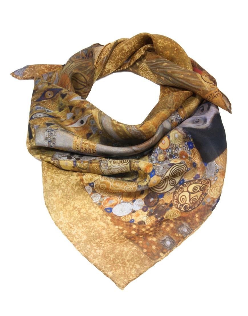 avant-garde de l'époque économiser 2019 professionnel Foulard en soie Klimt - Adèle Bloch Bauer - la Femme au ...