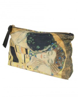 Pochette femme de soie Klimt - Le Baiser