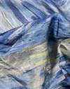 Silk scarf Van Gogh - Starry night - 90x90