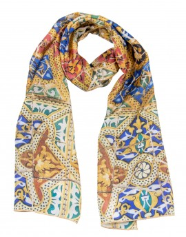 Foulard de soie Gaudi Pedrera