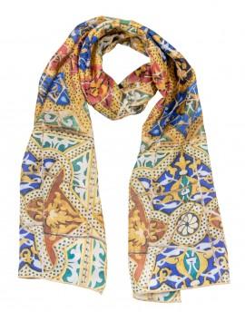 Gaudi silk scarf - Pedrera