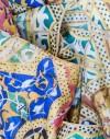 Foulard en soie Gaudi Pedrera