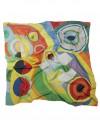 Pañuelo de seda Delaunay - Joie de vivre
