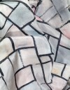 Foulard en soie Mondrian - Composition No. 6