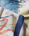 Pañuelo de seda circular Kandinsky - Acuarela 6