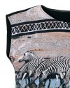Blusa de seda - Cebras