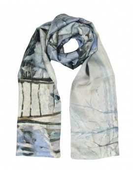 Monet silk scarf - The Magpie