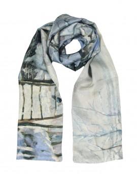 Pañuelo de seda Monet - La Urraca