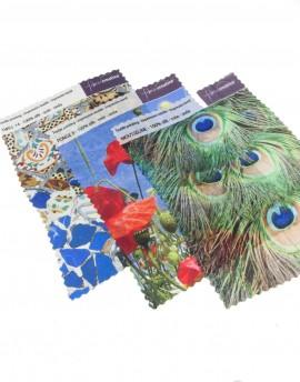 Silk fabric swatch 15x20 cm