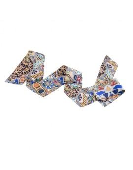 Foulard-ruban en soie Gaudi