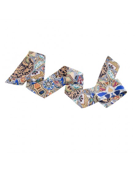 Ribbon silk scarf - Gaudi