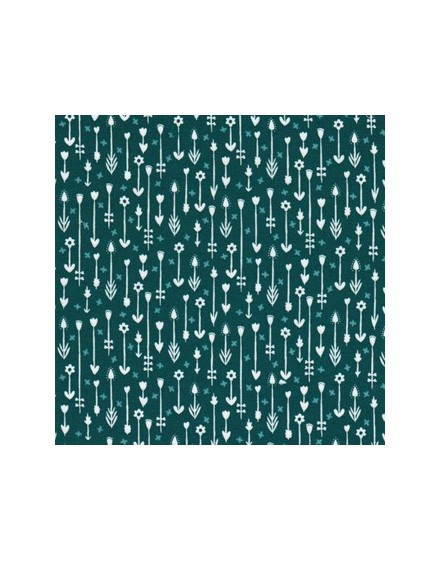 Tela ecológica Across the Pond Across the bank Ocean de Cloud9 Fabrics