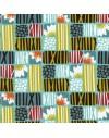 Tela ecológica Across the Pond Lotus Sky de Cloud9 Fabrics