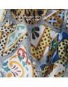 Lot 3 grands foulards en twill de soie
