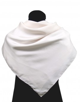 Pañuelo de seda 90x90 cm estampado de su imagen