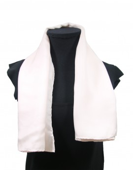 "Custom printed silk scarf 38x136 cm (15x53"")"