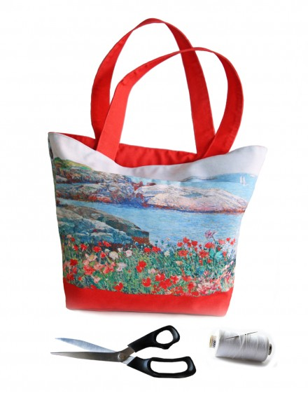 Cut and Sew Tote Bag Childe Hassam Isle of Shoals