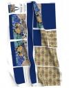 Kit Bolso tote Gaudi mosaico trencadis azul