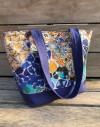 Kit sac cabas Gaudi Mosaique moderniste bleue