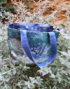 Cut and Sew Tote Bag Van Gogh Provence landscape and Olivee trees