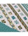 Tela ecológica Across the Pond Variegated Butterflies de Cloud9 Fabrics