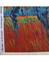 Coupon lin imprimé Van Gogh - Nuit étoilée