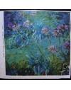 Lino estampado Monet - Impresión Sol naciente