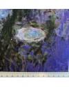 Lino estampado Monet - Nenufares