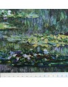 Linen print, Monet - Water Lily pond