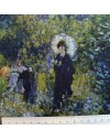 Linen print, Renoir - Woman with an umbrella