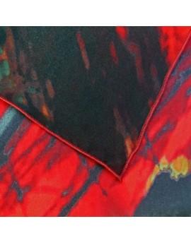 Lote 3 pañuelos de seda personalizados: 1 de 90x90 y 2 de 45x45cm