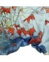 Bolero de seda - Florida Poinsettia