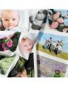 Panneau de photos imprimées sur tissu 12x18 cm