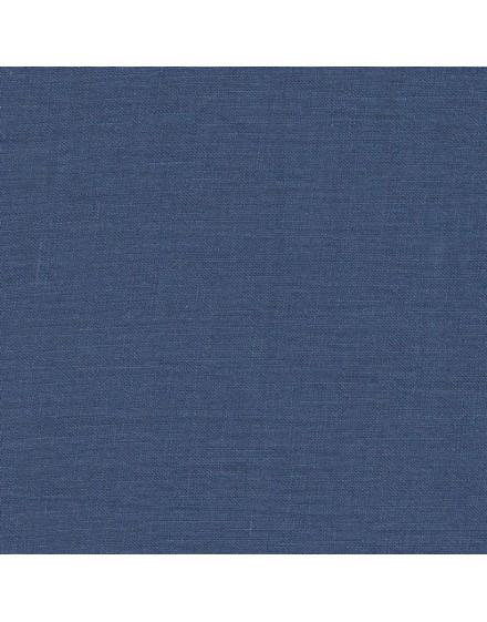 Coupon de lin - bleu cobalt