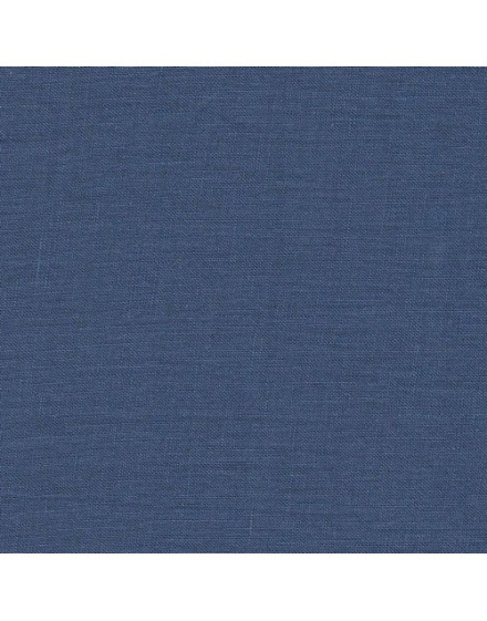 Linen precut fabric - cobalt blue