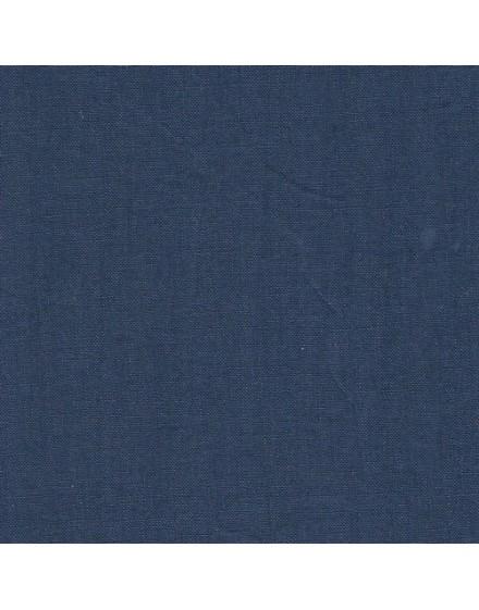 Linen precut fabric - navy blue