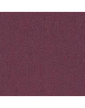 Retal de lino - morado pruna