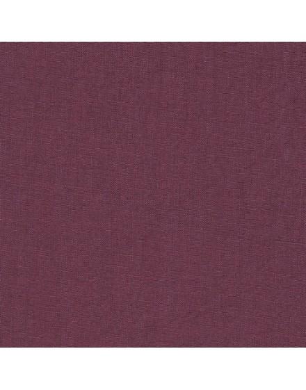 Linen precut fabric - plum