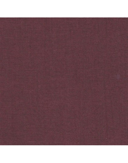 Linen precut fabric - wine
