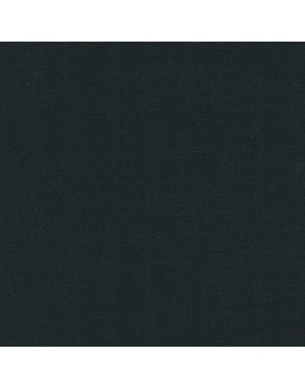 Linen precut fabric - black