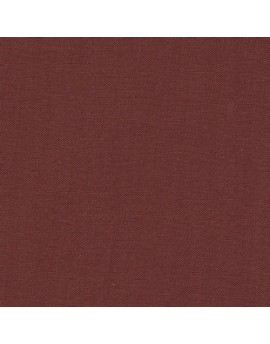 Linen precut fabric - dark brick
