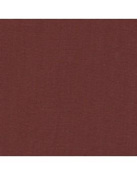 Linen precut fabric - dark brick