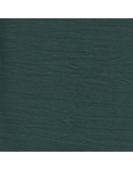 Linen precut fabric - green bottle