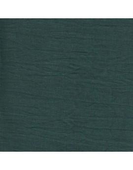 Linen precut fabric - green bottle